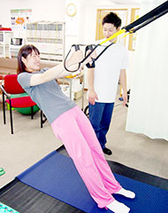 運動療法なら川口駅より徒歩3分のキューポラ接骨鍼灸院